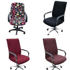 Elastic Chair Cover Comfortable Office Computer Swivel Armrest Chair Cover