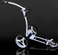Caddy-golf concede Elektro trolley Weiss Timer Memory 350w motor