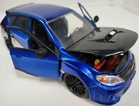 Jada 1/24 Scale 99514 - Fast & Furious - Subaru Impreza WRX STI - Blue Metallic