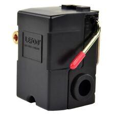 One Port Air Compressor Pressure Switch Control Valve 95-125 PSI w/ Unloader
