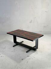 1950 VALLAURIS TABLE BASSE MODERNISTE BRUTALIST RECONSTRUCTION Capron Cloutier