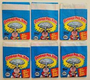 1985 TOPPS GARBAGE PAIL KIDS 2ND SERIES STICKERS OS2 25¢ VINTAGE SEALED PACK #2