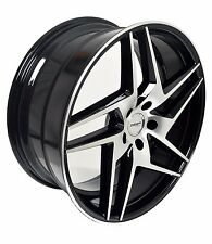 4 GWG Wheels 20 inch Black RAZOR Rims fits 5x114.3 INFINITI M37X 2011-13