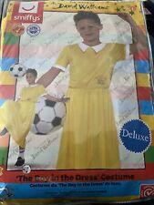Child Deluxe Boy in a Dress Costume David Walliams Book Week Day Fancy Dress L