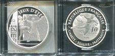 FRANKREICH 2010 - 10 Euro in Silber, PP - OLYMPIA LONDON 2012 Handball