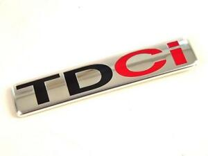 New TDCI Boot Chrome Badge For Fiesta, Focus, C-Max, Mondeo, S-Max, Galaxy