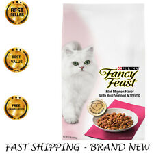 New listing Dry Cat Food for Adult Purina Fancy Feast Filet Mignon, Seafood & Shrimp 12Lb