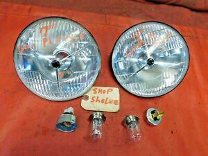 "MG, Triumph, Austin Healey, Jaguar, 7"" Lucas Style P 700 Headlights, VGC, !!"
