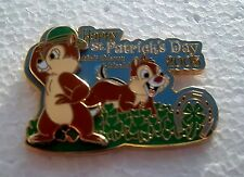 *~*DISNEY WDW ST. PATRICK'S DAY CHIP & DALE 2005 3D LE PIN*~*