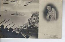 57778 SANTINO MILITARE STACCABILE 1942 SAN FRANCESCO AVIAZIONE MARINA ESERCITO