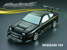 1/10 Nissan 180SX RC Car Transparent Body Strong Polycarbonate
