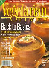 Vegetarian Times 1995 Romy Karz Jambalaya Onions Crepes