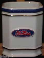 OLE  MISS TOOTH BRUSH HOLDER., APO AND FPO WELCOME