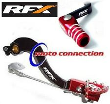 HONDA CRF250 10-15 RFX BRAKE PEDAL GEAR SHIFT LEVER COMBO BLACK RED (B101/G115)