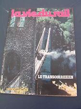 vie du rail 1980 1753 LAPLEAU MARCILLAC ESPAGNAC ROUGET SAINT MAMET PERS LA CROI