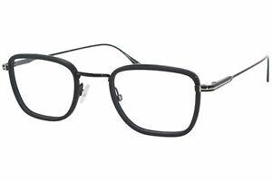 Tom Ford TF5522 005 Eyeglasses Men's Black Full Rim Square Optical Frame 47mm