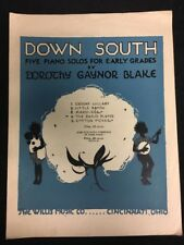 Down South Five Piano Solos For Early Grades Dorothy Gaynor Blake