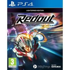 Redout Lightspeed Edition PlayStation 4 Ps4 Release