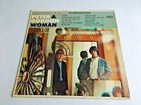 Peter & Gordon Woman LP 1966 Capitol Stereo Vinyl Record