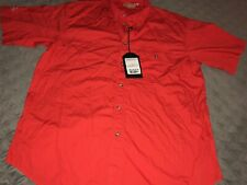 Beretta Shooting Shirt Large Short Sleeve Cotton Red Size XL - NEW NWT