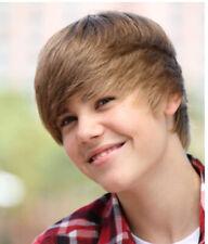 Justin Bieber wig fancy dress hair costume dress up