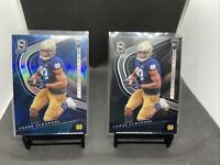 2020 Panini Spectra Chase Claypool Rookie Card RC Rookie Lot Of (2) Blue SSP ✨📈
