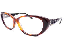 d094aa549c11 SWAROVSKI - DAY women s Dark Brown Havana Black 54mm RX Glasses Frame  SK5083 052