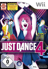 Just Dance 4 IV pour nintendo wii | article neuf | version allemande!