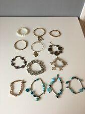 Job Lot of 13 Bracelets - EE