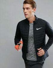 Mens Nike Essential Flash Reflective Jacket 856896-010 Black Brand New Size XL