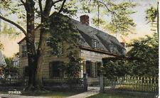 John Bowne House built in 1661 Flushing NY nice postcard postally used in 1909