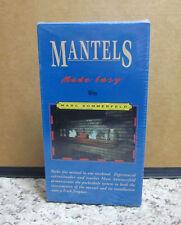 MANTELS MADE EASY octagon light fixture NEW VHS fireplace instructional DIY