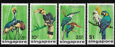 SINGAPORE 1975 birds ,high value complete set , Sc.236-239 mint MNH XF,SG 260-63