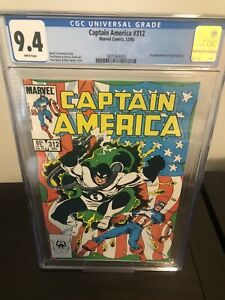 captain america 312 cgc 9.4 First Flag Smasher🔥🔥