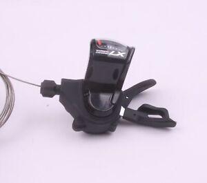 Shimano Deore LX SL-T670 links 3-Fach Trigger/Schalthebel schwarz - NEU