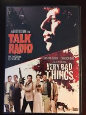 Talk Radio & Very Bad Things (1988/1998, DVD) - 2 Great movies on one disc