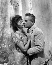 8x10 Print Rossano Brazzi Sophia Loren The Legend of the Lost 1957 ##RBSL