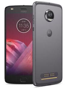 Smartphone Motorola Moto Z Play 2nd Generation - 64 Go - Lunar Grey