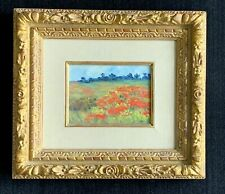 Marie Lucie Nessi--Valtat signed original oil painting ~ landscape ~ flowers