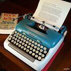 1958+Smith-Corona+5TE+Portable+Electric+Typewriter%2C+working+beautifully.