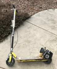 GoPed Original California Sport Scooter Yellow PreOwned *Please Read* Needs Work
