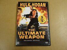 DVD / THE ULTIMATE WEAPON ( HULK HOGAN )