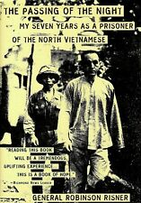 PASSING OF THE NIGHT: 7 Yrs a Prisoner of the North Vietnamese by Risner HC NEW