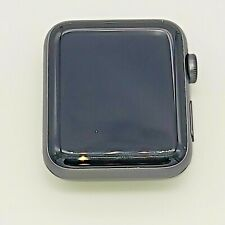 Apple Watch Series 3 42mm Space Gray Aluminum Black Sport A1859 GPS Only