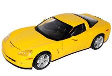 Chevrolet Chevy Corvette C6 C 6 Coupe Gelb Ab 2005 1/18 Maisto Modellauto Modell