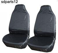 1+1 Coppia Protettori Coprisedili Impermeabili Auto Suv Taxi Universali