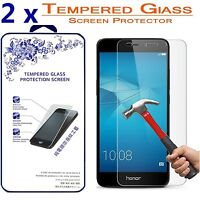 [2 Pack] For Huawei Honor 5C Tempered Glass Screen Protector, Ballistics 0.3mm