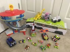 Paw Patrol Lot - Jungle Patroller w/ Ryder & ATV + Lookout Tower + Jungle Rescue