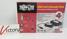 NEW TRIPP-LITE USB Cat5 Extender/Hub 4-Port Remote USB Hub Over Model:U224-4R4-R