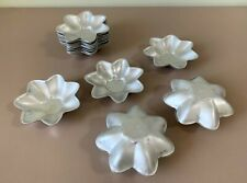 Set of 16 (8 Pairs) Vintage USSR Soviet Flower Shaped Cake Cookie Baking Molds